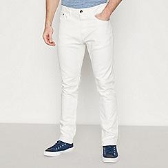 Red Herring - White Slim Fit Jeans
