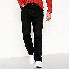 Red Herring - Black straight fit jeans