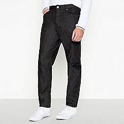 Red Herring - Black tapered fit jeans