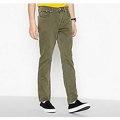 Red Herring - Khaki Slim Fit Jeans