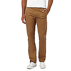 Red Herring - Dark tan slim chinos