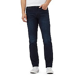 Red Herring - Big and tall dark blue slim fit jeans