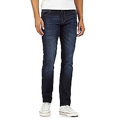 Red Herring - Dark blue skinny fit mid wash jeans