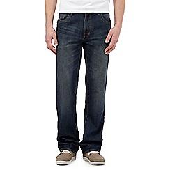 Red Herring - Blue vintage wash bootcut jeans