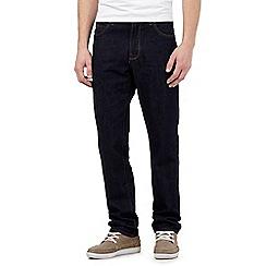 Red Herring - Dark blue rinse wash straight jeans