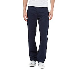 Red Herring - Big and tall navy chino trousers