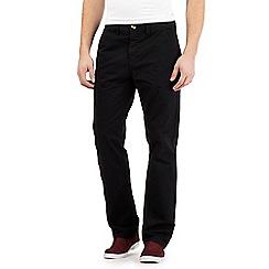 Red Herring - Black chino trousers