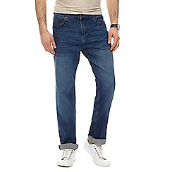 Red Herring - Blue mid wash straight leg jeans