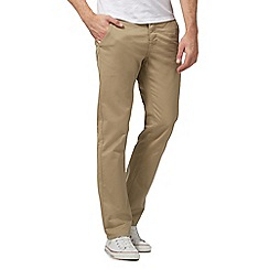 Red Herring - Big and tall natural slim chino trousers