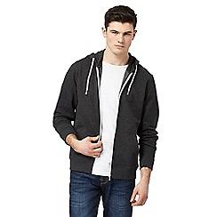 Red Herring - Grey zip-down basic hoodie