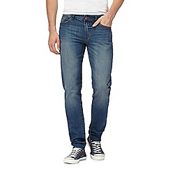 Red Herring - Blue mid wash skinny fit jeans
