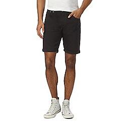 Red Herring - Black denim shorts
