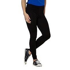 Red Herring - Black full length jersey leggings