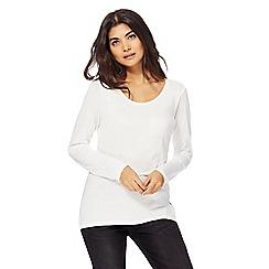 Red Herring - White boyfriend t-shirt