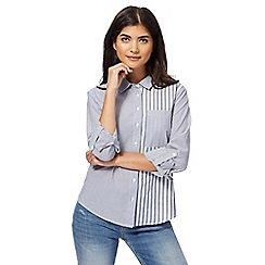Red Herring - Light blue striped shirt