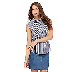 Red Herring - Blue and white striped shirt