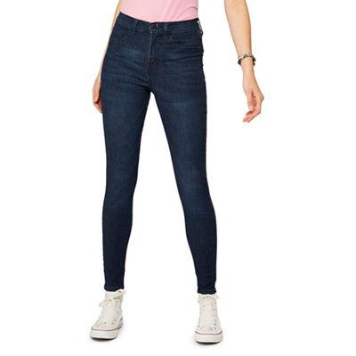 Red Herring   Blue 'heidi' Skinny Jeans by Red Herring