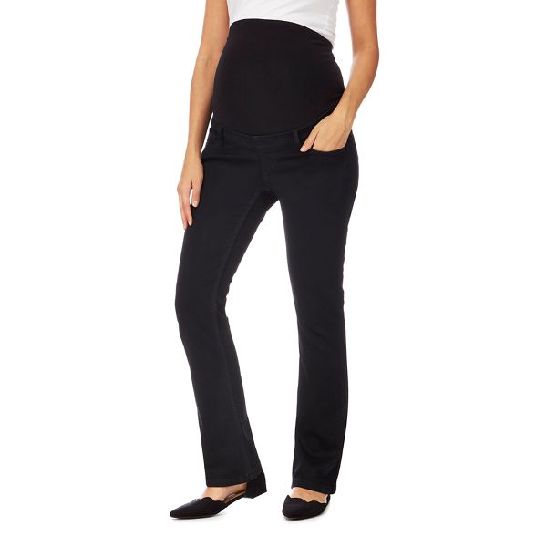 Maternity Red Herring jeans bootcut fit Black maternity qB7Bw