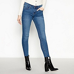 Red Herring - Mid blue mid wash 'Lulu' skinny jeans