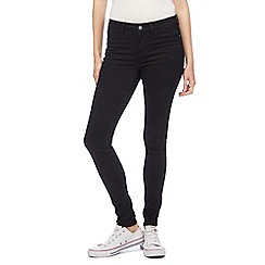 Noisy may - Black 'Lucy' slim jeans