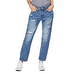 Levi's - Blue '501' tapered leg jeans