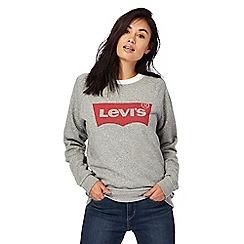 Levi's - Grey logo print sweatshirt