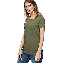 Red Herring - Khaki t-shirt