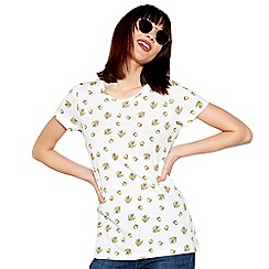 Red Herring - White lemon print t-shirt