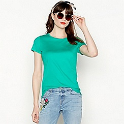 Red Herring - Green longline T-shirt