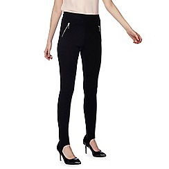 Red Herring - Black zip detail ski pants