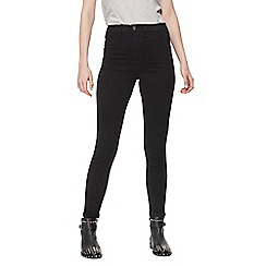 Red Herring - Black 'Heidi' high waisted skinny jeans