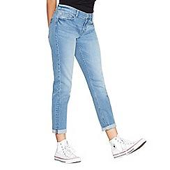 Red Herring - Light blue 'Chloe' distressed girlfriend jeans