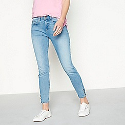 Red Herring - Blue button hem 'Holly' skinny jeans