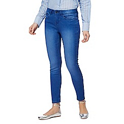 Red Herring - Bright blue 'Holly' skinny ankle grazer jeans