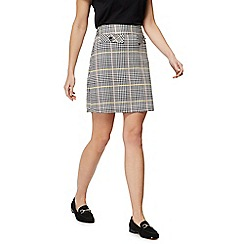 Red Herring - Multi-coloured checked skirt