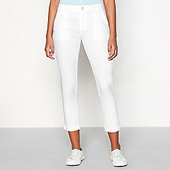 Red Herring - White chinos trousers
