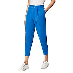 Red Herring - Bright blue crepe trousers