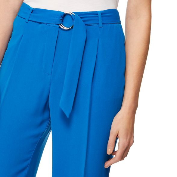 blue trousers crepe Herring Red Bright nEwqgzgX