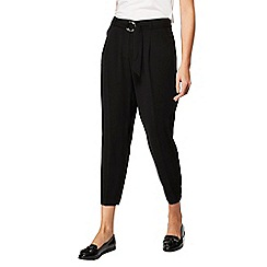 Red Herring - Black crepe trousers