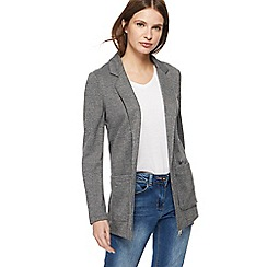 Red Herring - Grey checked ponte blazer jacket
