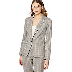 Red Herring - Grey checked suit blazer