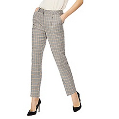 Red Herring - Grey checked suit trousers