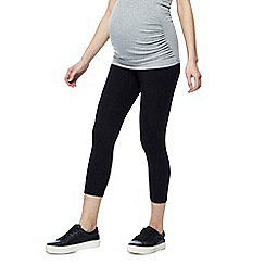 Red Herring Maternity - Black cropped leggings