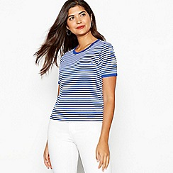 Red Herring - Navy striped t-shirt