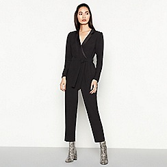 Red Herring - Black Tuxedo Jumpsuit