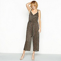 Red Herring - Multicoloured striped metallic jumpsuit