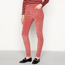 9ed054c2bf7 Red Herring - Rose corduroy  Holly  skinny ankle grazer trousers
