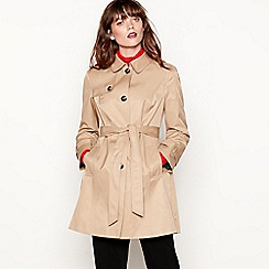 Red Herring - Camel skater mac coat