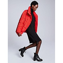 Red Herring - Red puffer coat