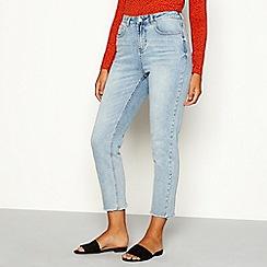 Red Herring - Light blue light wash 'Taylor' slim fit straight leg jeans